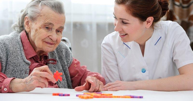 Demenz und Alzheimer und die logopädische Therapie