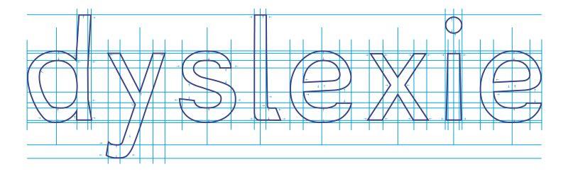Die Schriftart Dyslexie Font hilft Legasthenikern